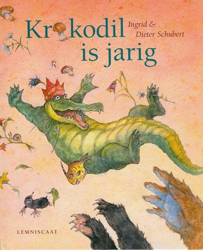Boekenhoek: krokodil is jarig