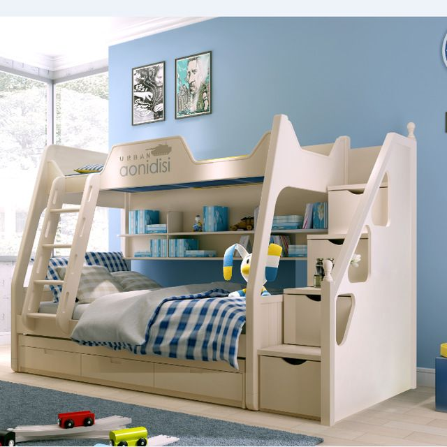 Source Kids Bedroom Furniture Lovely Wood Bunk Bed 8002 On M Alibaba Com Camas Dormitorios Muebles Sala