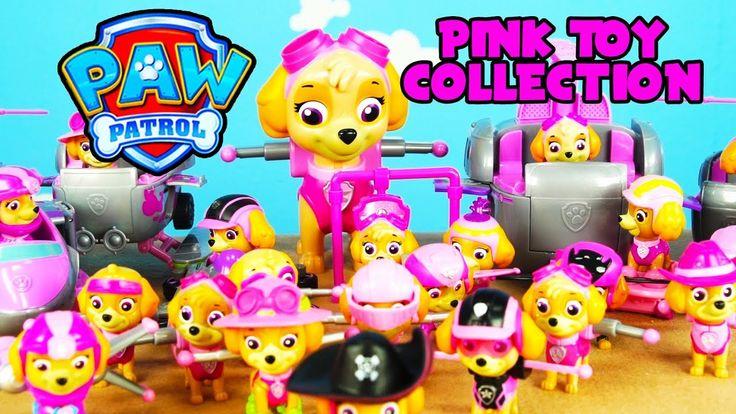 LOTS of PINK PAW PATROL SKYE TOYS for KIDS