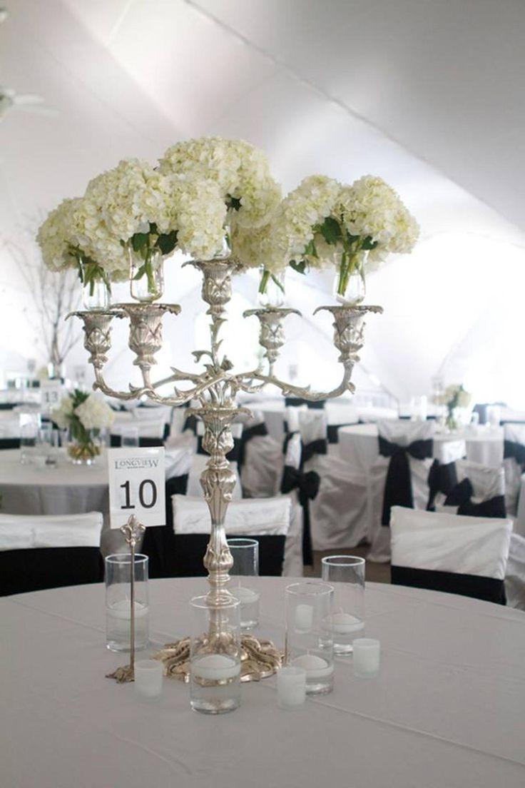70 best centerpieces images on Pinterest | Weddings, Candelabra ...