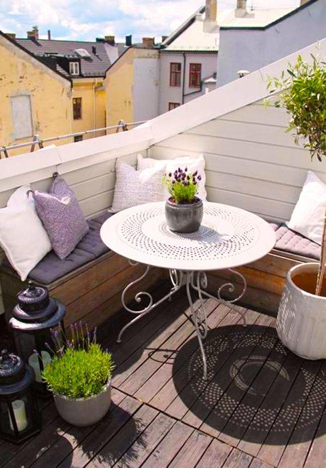 aménager petit balcon
