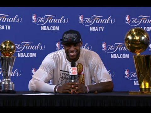 LeBron James Press Conference after winning 2013 NBA  Championship.