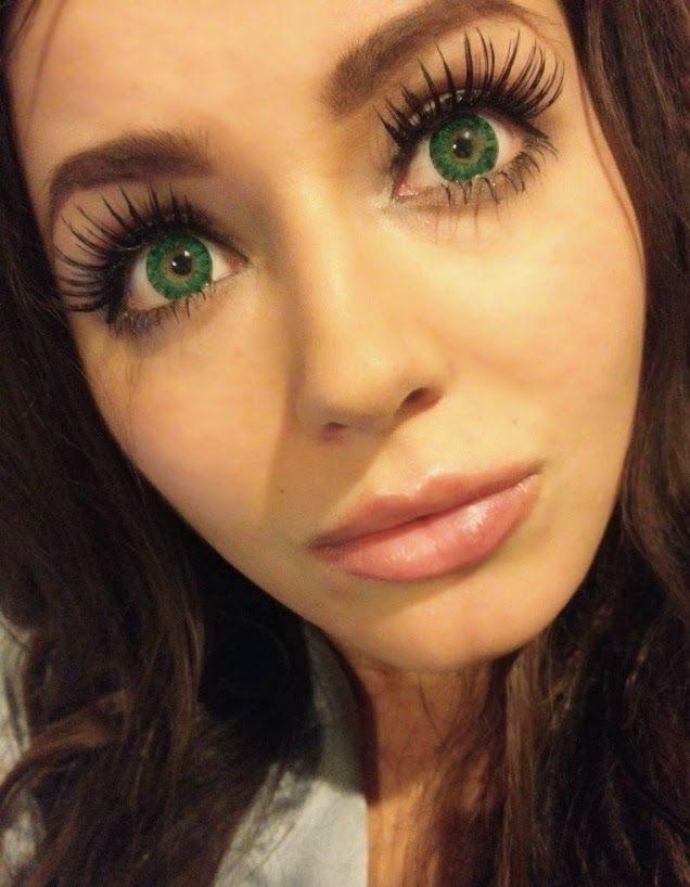 Lime Angel Eyes Ojos De Angel