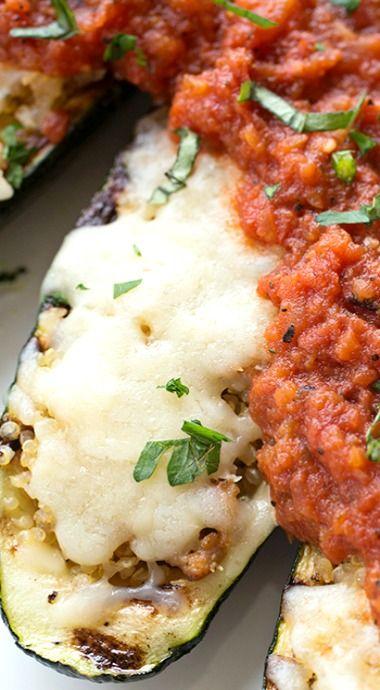 ... boats on Pinterest | Zucchini pizza boats, Vegetarian zucchini boats