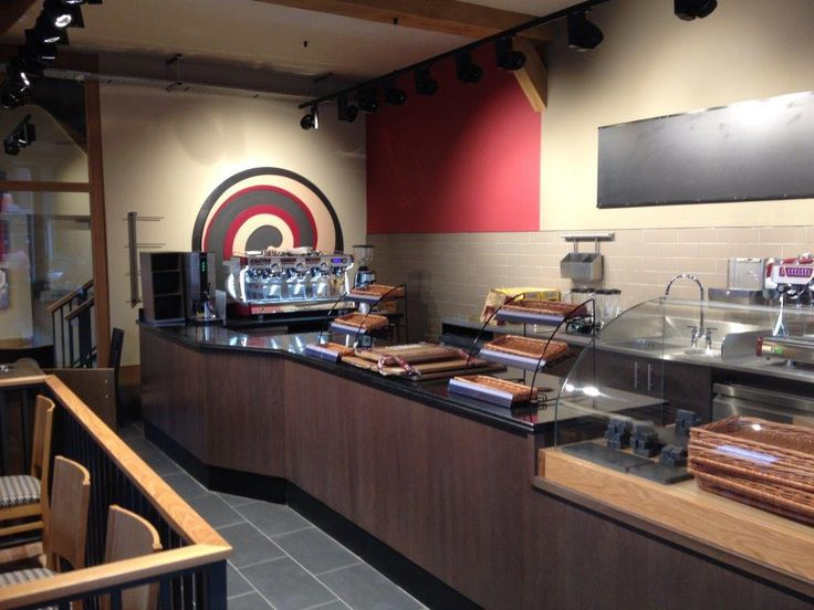 Costa coffee hereford fitted by jephsons shop fitters
