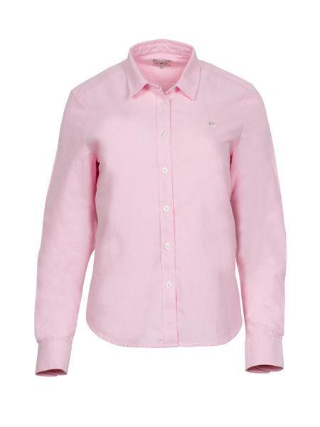 Womens Signature Oxford Shirt Pink