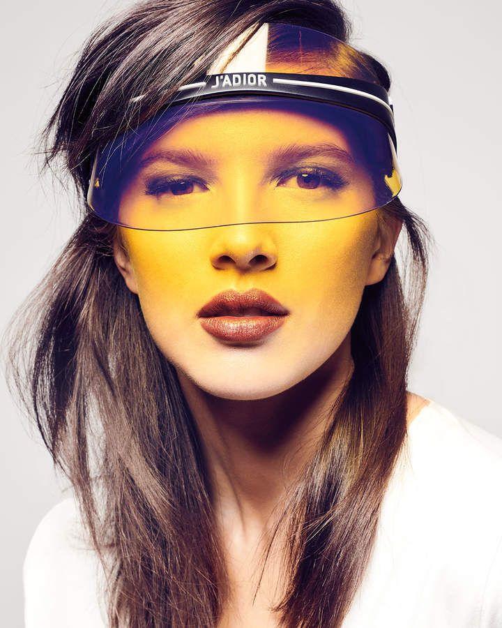 c12ab799173b6 If you are going to wear a sun visor make it Dior  sunvisor   fashionstatement  fashionweektrends