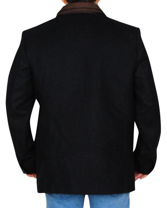 Blood & Oil Elegant Black Coat