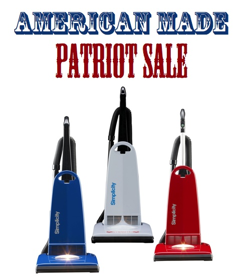 American Made Vacuum Cleaners By Simplicity