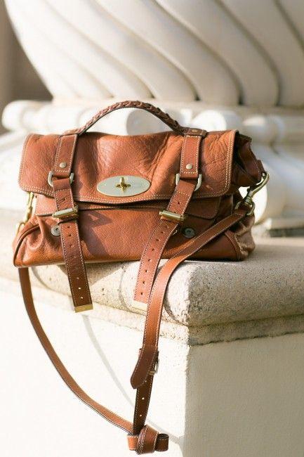 Safari :: Olive skort...Mulberry bag.