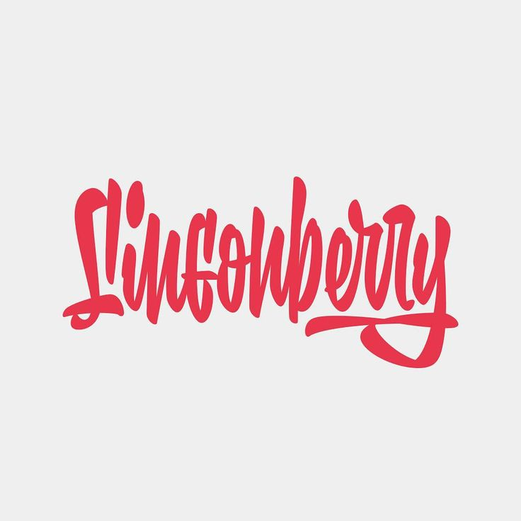 Lingonberry. Just a small lettering exercise #lettering #script #customlettering