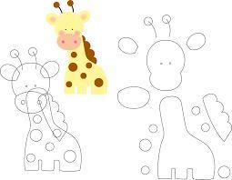 keçe hayvan şablonları ile ilgili görsel sonucu