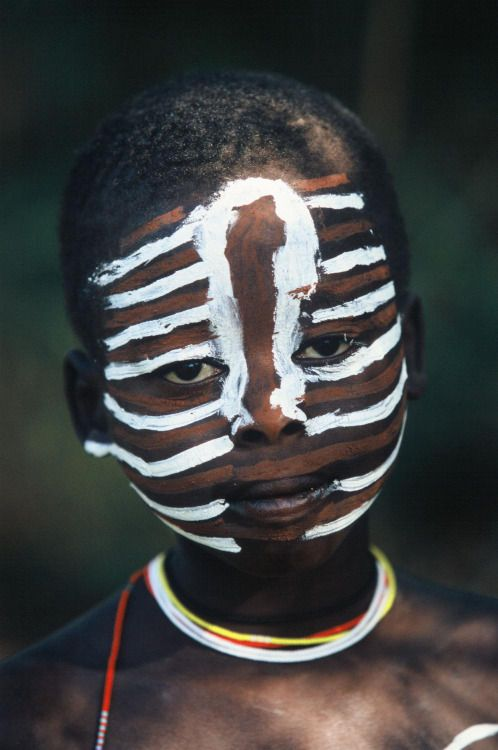 Natural Fashion from Ethiopia's Omo Valley Photographs by Hans Silvester