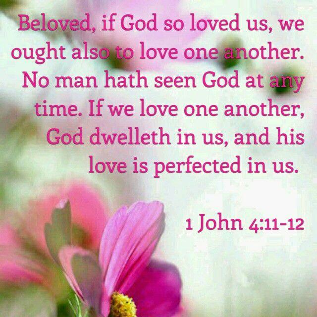 Image result for 1 John 4:12