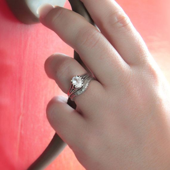 25 best ideas about filigree engagement ring on