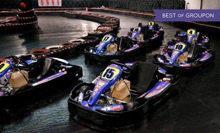 grafika Gokarty: 8-minutowe wyścigi