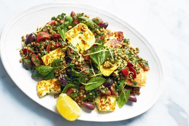 Laced with vibrant Mediterranean flavours and freshly picked herbs, this satisfying salad is high in fibre and gluten-free