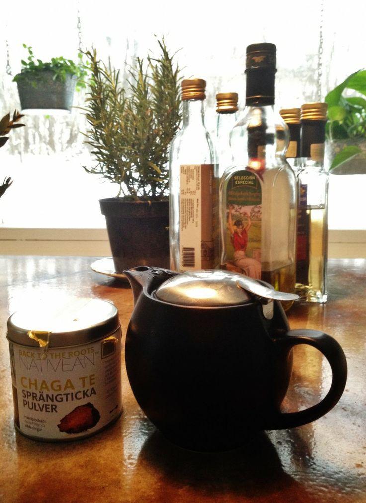 SMAKLYCKA | Guldkorn i Livet Chaga te, gott och nyttigt