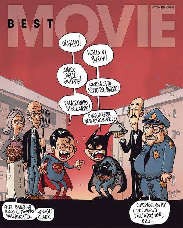 Batman Vs Superman by Zerocalcare (600×749)