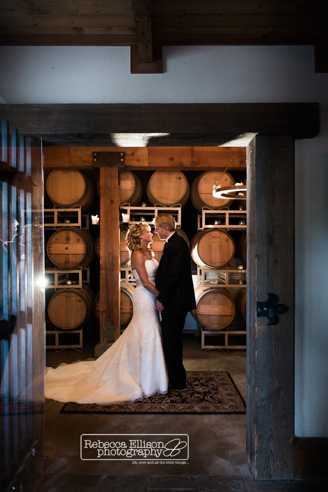 bride and groom in wine cellar at delille cellars wedding & Best 117.0+ JM Cellars images on Pinterest | Cellar Seattle wedding ...