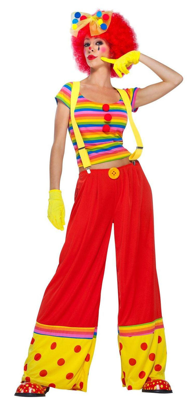 Moppie The Clown - Adult Costume from Buycostumes.com