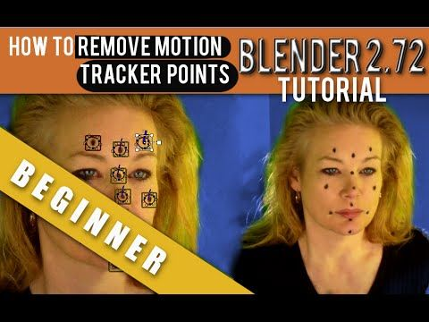 ▶ How To Remove Motion Tracking Points In Blender 2.72b - YouTube