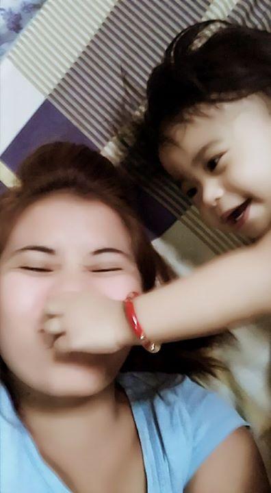 Life is sweet when u see her happy... #baby#babystuff#babyproducts#