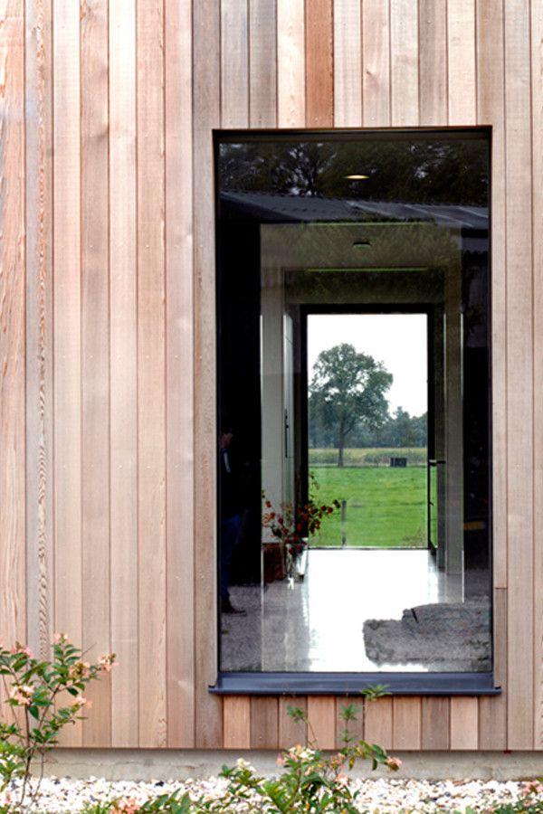 25 beste idee n over houten gevelbekleding op pinterest - Interieur gevelbekleding houten ...