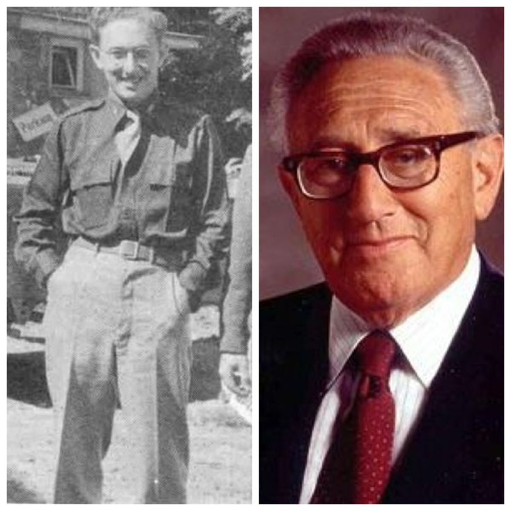 Henry Kissinger-Army-Sergeant in counter intelligence corps-recipient of Nobel Peace Prize, negotiated the Paris Peace Accord, ending American involvement in the Vietnam War.  (Secretary of State, former National Security Advisor)