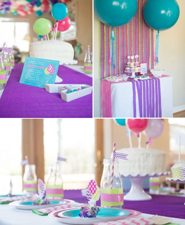 ideas balloon pop party baby shower ideas