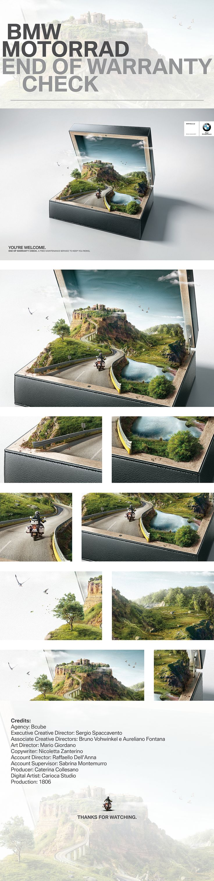 BMW Motorrad | Case on Behance