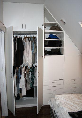 snedtak+garderob - Sök på Google