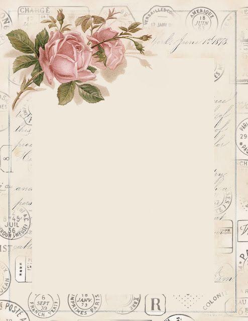 913 best etiquetas tags iii images on pinterest printables free arte com encanto by vast fernandes molduras antique floral maxwellsz