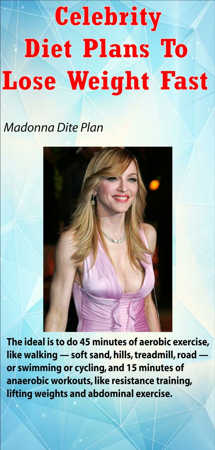If you are motivated by someone especially the celebrity you like; find 4 Crazy Celebrity Diet Plans To Lose Weight Fast. Discover the secret.