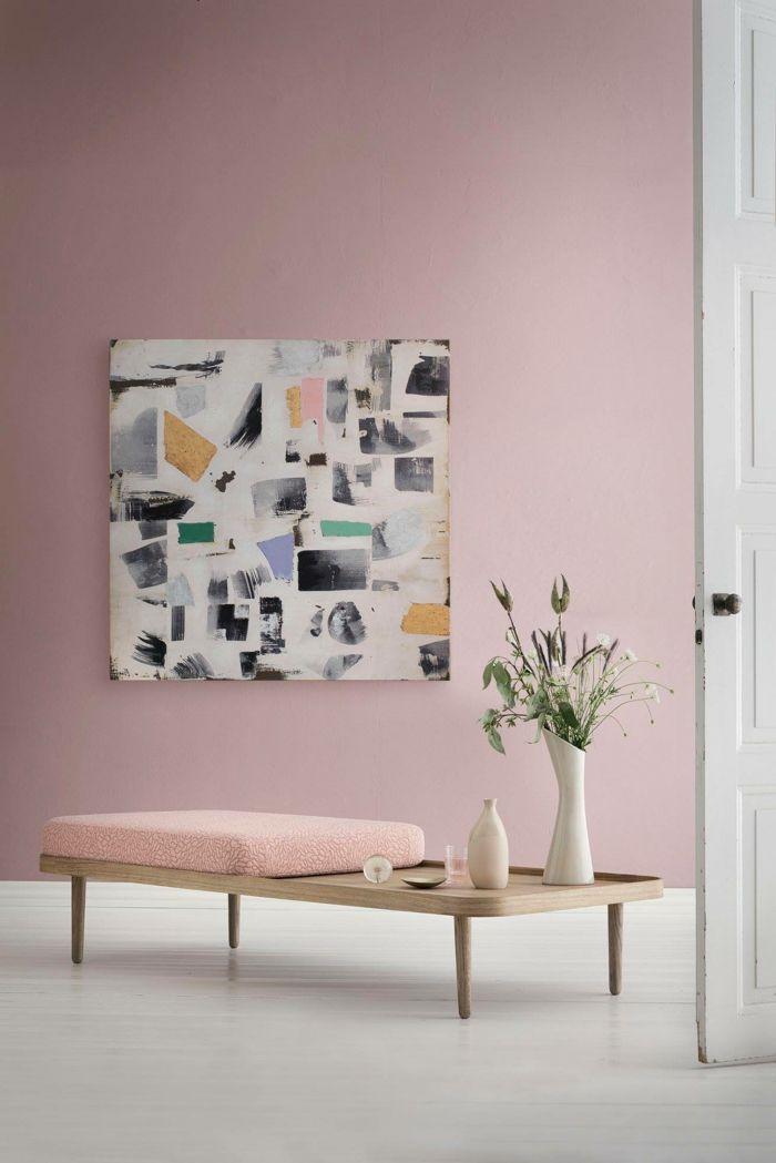 1001 Ideen Fur Bilder Fur Wandfarbe Altrosa Die Modern Und Stylisch Sind In 2020 Rosa Wandfarbe Wandfarbe Farben Fur Wande