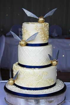 Image result for harry potter wedding cakes