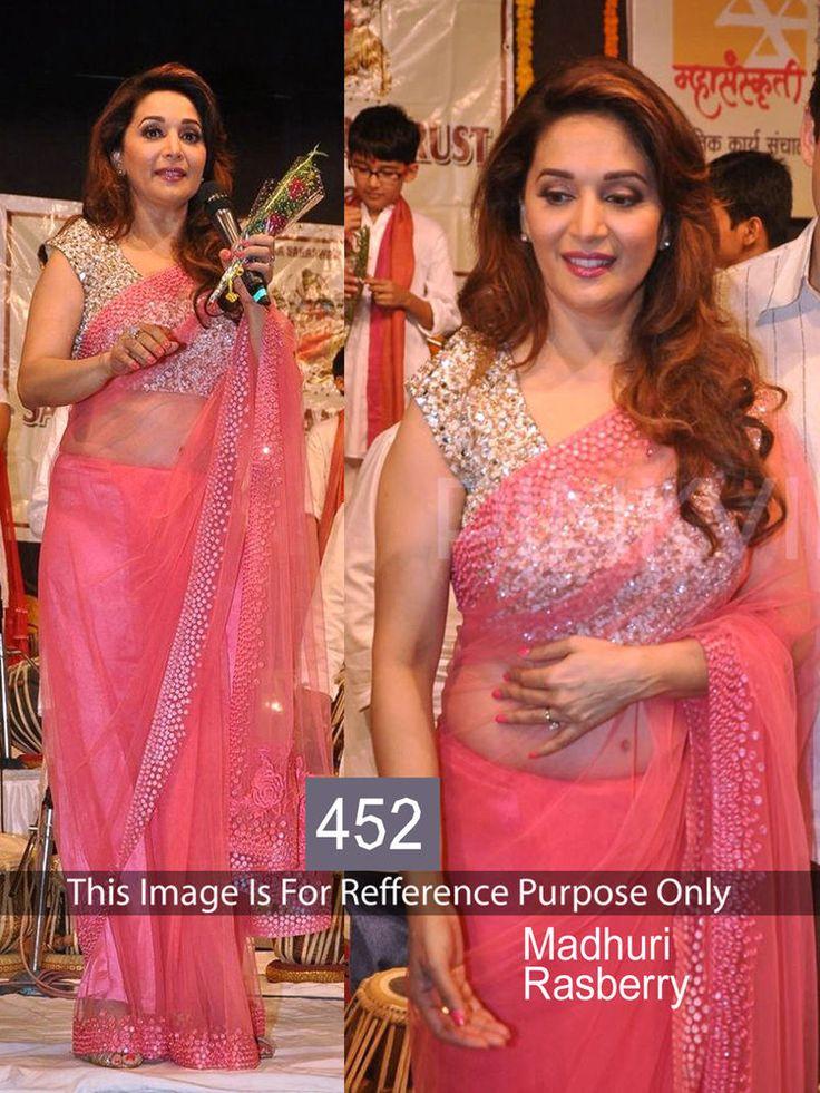 Sari Bollywood Indian Designer Saree Party Wear  Women Lehenga Pakistani 452 #StyleFashionHub #Saree