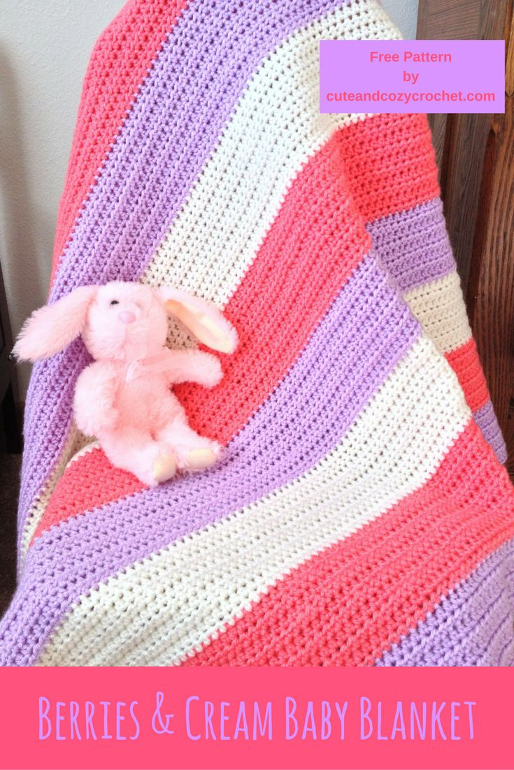 972 best Crochet Baby Shawls & Blankets images on ...
