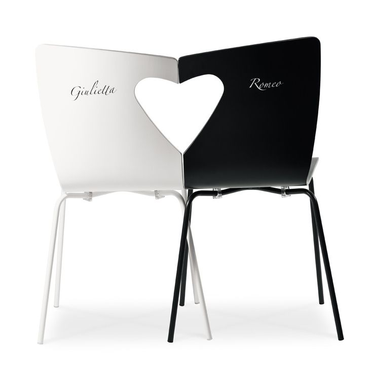 Romeo & Giulietta, una sedia per gli innamorati | Romeo & Juliet, a chair for lovers