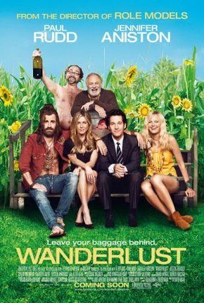 Wanderlust (2012) USA Universal Co-Prod: Judd Apatow. Paul Rudd, Jennifer Aniston, Alan Alda. (4/10) 25/12/14