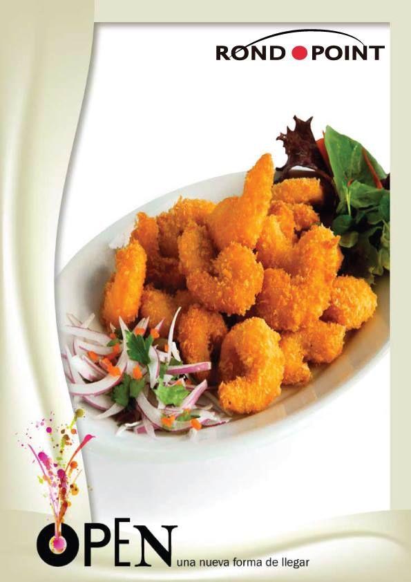 Porción de camarones rebozados, sabrosos e ideales para cualquier momento!