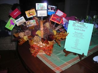 9 best restaurant gift card basket ncts images on pinterest gift gift card basketi actually made my own version but negle Gallery