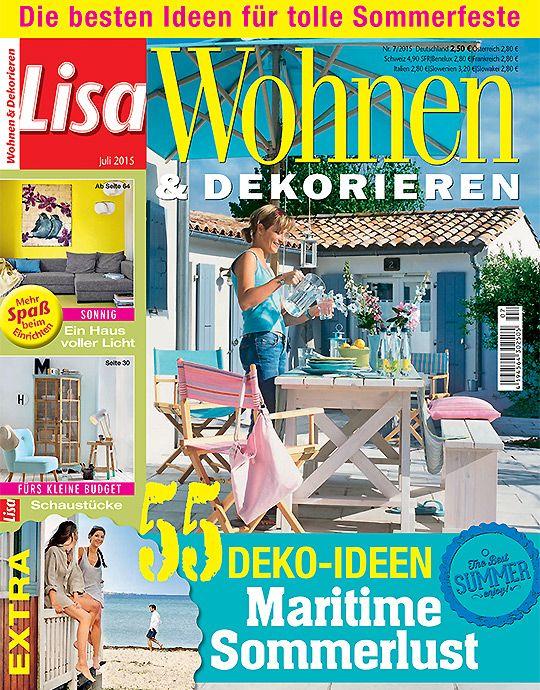 Best Lisa Wohnen u Dekorieren aktuelle Ausgabe
