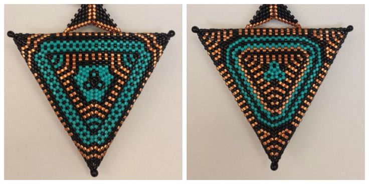Join Marina Montagut for this amazing Triangle Pendant class! Peyote experience required.