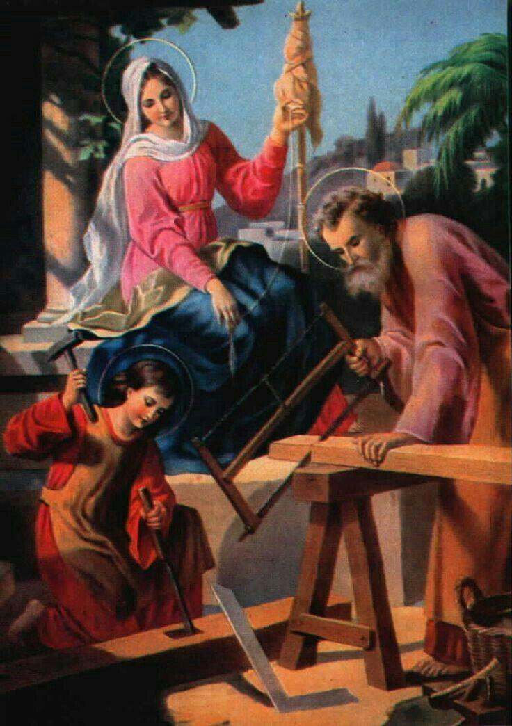 Sagrada Familia de Nazaret protege todas las familias del mundo siempre.