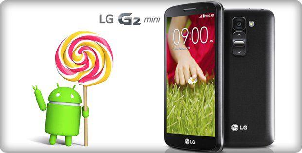 LG G2 Mini - Android 5.0 Lollipop update