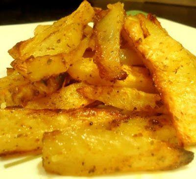 Πατάτες φούρνου σαν τηγανιτές !!! ~ ΜΑΓΕΙΡΙΚΗ ΚΑΙ ΣΥΝΤΑΓΕΣ