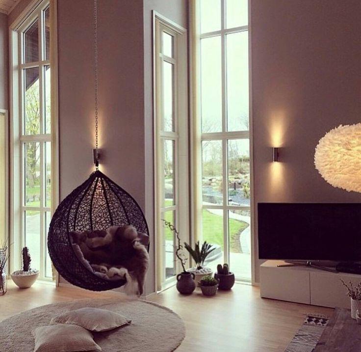 h ngesessel home and living pinterest h ngesessel wohnzimmer und h ngematte. Black Bedroom Furniture Sets. Home Design Ideas
