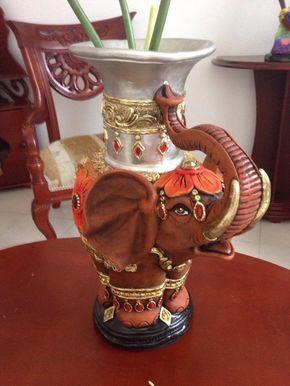 Florero En Cerámica Decorativo