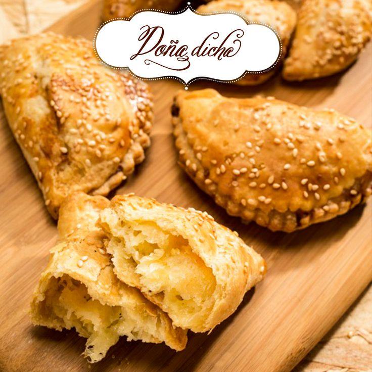 Empanadas 3 quesos.